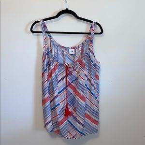 Cabi All Aboard Nautical Tank Top